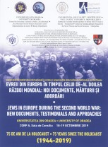 Evreii din Europa în Al Doilea Război Mondial - Conferinţă internaţională la UO