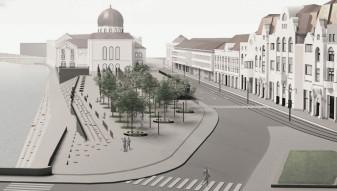 Piaţeta din strada Independenţei - A fost anunţat câştigătorul concursului internaţional