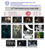 Cupa Mondială a Federației Internaționale de Artă Fotografică - Varadinum Foto Club Oradea, locul 12 în lume