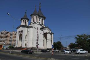 Papucul Sfântului Spiridon la Catedrala nouă din Oradea