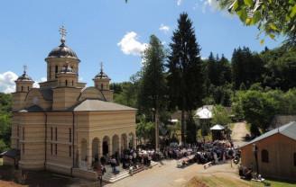 Adormirea Maicii Domnului la Mănăstirea Izbuc