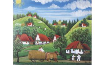 Eveniment unic în România, dedicat artei naive româneşti - Provocările din spatele unui festival