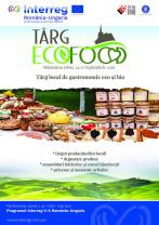 În perioada 14-15 septembrie, la Mănăstirea Izbuc - Târg local de gastronomie eco și bio