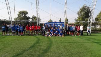 Întrecerea tinerilor din sistemul de asistență socială - Cupa Toamna Orădeană la fotbal