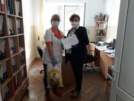 Împreună cu filiala județeană a Crucii Roșii Române și Colegiul Medicilor Bihor - Voluntariat în sprijinul medicilor