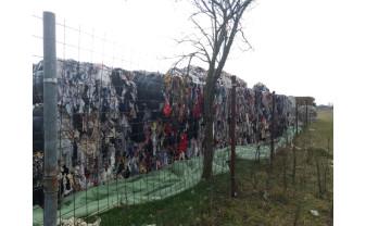 Ineu de Criş şi Vadu Crişului au ajuns depozite clandestine de deşeuri  - Un munte de gunoaie adus din Italia