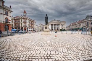 Lucrările de amenajare și modernizare a Pieţei Ferdinand și străzii Aurel Lazăr - În stadiu avansat