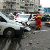 Accident spectaculos pe Bulevardul Dacia