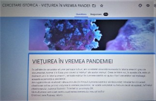 O cercetare documentară - Viețuirea în pandemie