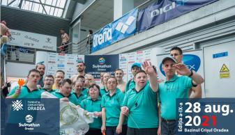 Echipa Super Eroi, formată doar din persoane cu dizabilități - Premieră absolută la Swimathon