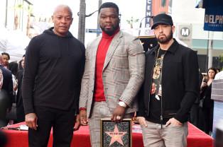 50 Cent a primit o stea pe Walk of Fame