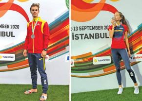 Alesia Rengle şi Fandly Mark medaliaţi la Istanbul - Vicecampioni balcanici la juniori I