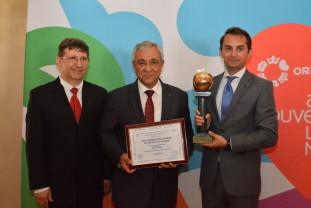 """Oradea a primit trofeul """"Mărul de Aur"""""""