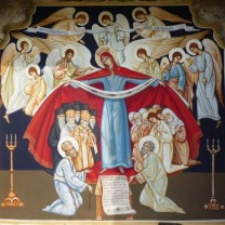 Sărbătoarea zilei - Acoperământul Maicii Domnului
