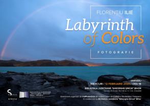 Vernisaj la Biblioteca Judeţeană Gheorghe Şincai -  Expoziția Labyrinth of Colors
