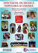 Spectacol caritabil de muzică populară și ușoară - Alături de Luminița