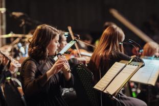 Flautista Ana Carina Niculaș - Putea să meargă la Viena sau Cluj, dar a ales Oradea