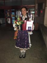 Festival-concurs național - Premiul I pentru Bianca Diana Popa