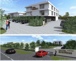 Comisia Municipală de Urbanism - Business hotel în Parcul Industrial I