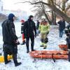Misiune dificilă pentru pompieri în apele îngheţate ale Crişului Repede - Înghiţit de ape