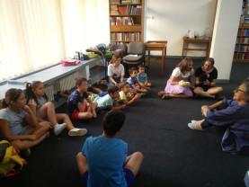 """În vacanța de vară. Activități interesante pentru copii - Tabăra """"Ceata lui Pițigoi"""""""