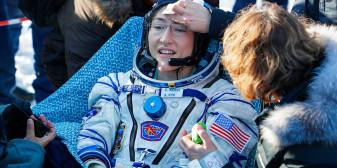 Astronauta a petrecut cea mai lungă perioadă în spațiu - A revenit pe Terra