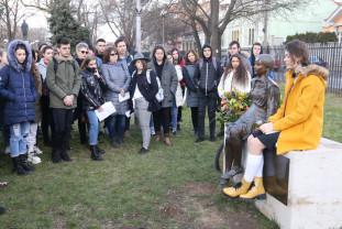 La 89 de ani de la naștere - Eva Heyman a fost comemorată la Oradea