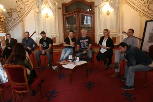 Premieră naţională la Teatrul Regina Maria - Creştini – un spectacol în Sinagoga Sion