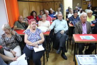 Liga Judeţeană a Pensionarilor din Bihor - Ziua Internaţională a Vârstnicilor, sărbătorită la CCS