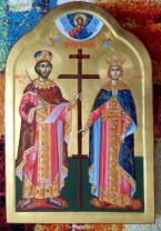 Sărbătoarea zilei - Sfinţii Împăraţi Constantin şi Elena