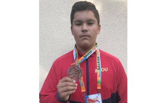 Campionatele Balcanice de juniori - Cristian Mehes s-a clasat pe locul al treilea