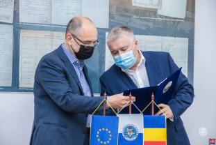 Fostul ministru al Educației, Adrian Curaj - A vizitat Universitatea din Oradea