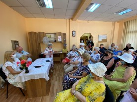Sărbătoare la Centrul Multifuncțional din Nufărul - Ziua Imnului pentru vârstnici