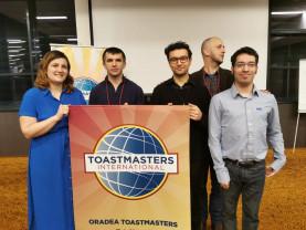 Oradea Toastmasters - Concursul local de discursuri pregătite și evaluări