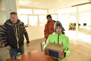 Ultimele trei zile pentru ajutoare de la DAS Oradea - Se distribuie produsele de igienă