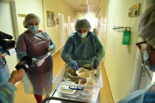 Spitalul Municipal Oradea, proiecte în derulare şi un pas spre normalitate - Meniu la alegere