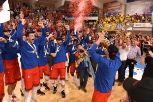 Finala Ligii Naționale de baschet masculin - Vechea și noua campioană a României: CSM CSU Oradea!