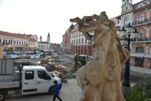 Investiţiile din Calea Aradului şi de la Podul Dacia, gata în iunie - Situaţia lucrărilor derulate în Oradea