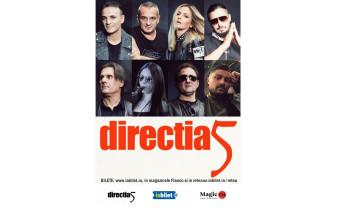 """Direcția 5 ajunge mâine la Oradea - """"Povestea noastră - 30 de ani"""""""