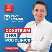 Emilian Pavel: Am făcut și vom continua să promovăm proiecte pentru dezvoltarea sistemului de sănătate din Oradea!
