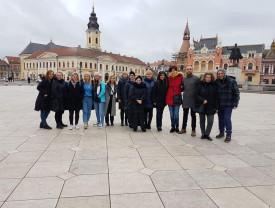 """Sub deviza Erasmus +, """"I am Unique"""" - Vizită internaţională la CSEI Cristal Oradea"""