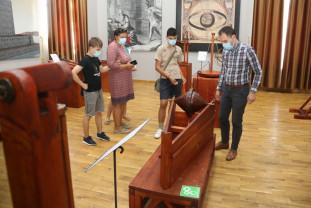 Peste 100 de vizitatori în primele două zile - Invenţiile lui Arhimede: o expoziţie de succes
