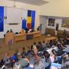 Activităţi preventive dedicate tinerilor la Universitatea Oradea - Polițiștii, alături de studenți