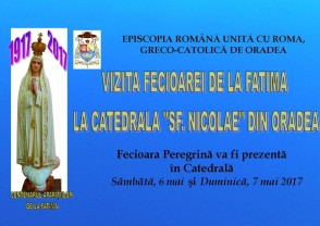 Fecioara de la Fatima, la Catedrala Sfântul Nicolae