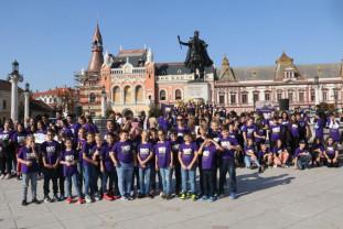 Şcoala Oltea Doamna la centenar - Flashmob și activități sportive