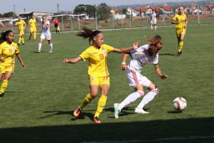 România – Ungaria 3-7 - Tricolorele U17, umilite la Sânmartin
