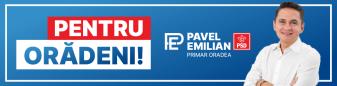 """Emilian Pavel (PSD): Prin Programul meu """"Pentru Orădeni"""", vreau să aduc schimbarea de care au nevoie orădenii!"""