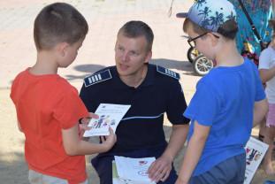 Activităţi preventive derulate în staţiunile bihorene - Vacanţa de vară în siguranţă