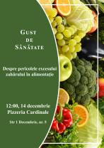 """Mâine, 14 decembrie, la Oradea - Campania """"Gust de sănătate"""""""