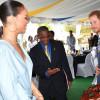Printul Harry s-a întâlnit cu Rihanna la ceremoniile din Barbados